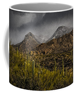 Storm Over Catalinas Aso Coffee Mug