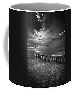 Storm Over Naples Florida Beach Coffee Mug by Bradley R Youngberg