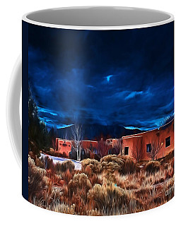 Storm Over Taos Lx - Homage Okeeffe Coffee Mug
