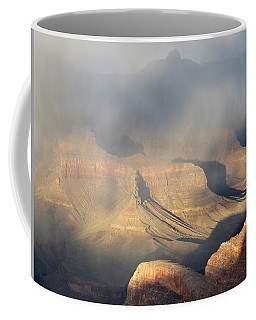 Storm Over The Grand Canyon Coffee Mug