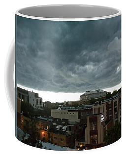 Storm Over West Chester Coffee Mug by Ed Sweeney