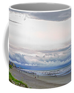 Coffee Mug featuring the photograph Storm Tail by Steven Santamour