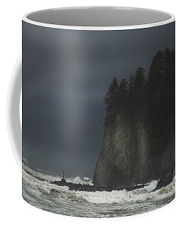 Storm At Lapush Washington State Coffee Mug