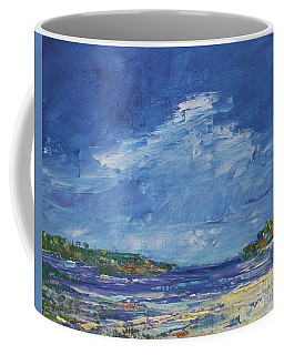 Stormy Day At Picnic Island Coffee Mug