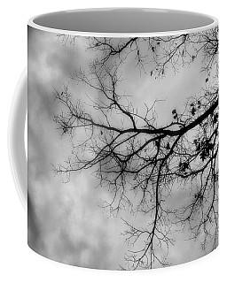 Stormy Morning In Black And White Coffee Mug
