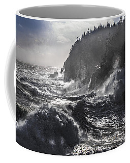 Stormy Seas At Gulliver's Hole Coffee Mug by Marty Saccone