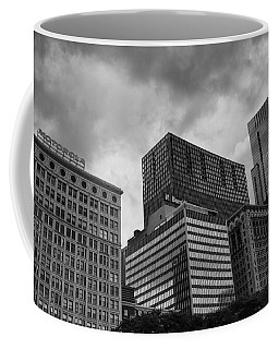 Coffee Mug featuring the photograph Stormy Skies by Miguel Winterpacht