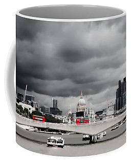 Stormy Skies Over London Coffee Mug