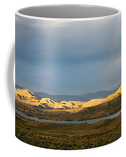 Stormy Sky With Rays Of Sunshine Coffee Mug by Nadja Rider