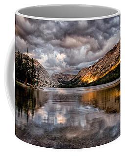 Stormy Sunset At Tenaya Coffee Mug
