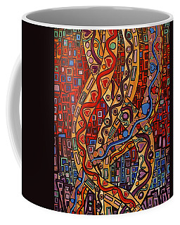 Story Lines Coffee Mug