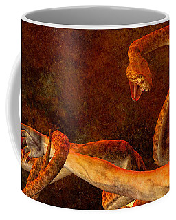 Coffee Mug featuring the photograph Story Of Eve by Bob Orsillo