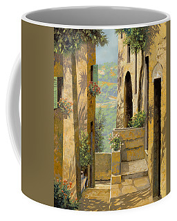 stradina a St Paul de Vence Coffee Mug