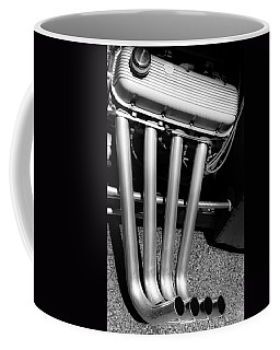 Straight Pipes - Chevrolet Engine Headers Coffee Mug by Steven Milner