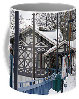 Coffee Mug featuring the photograph Stranded In Strafford by Ira Shander