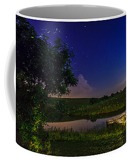 Strangers In The Night Coffee Mug by Alexey Stiop