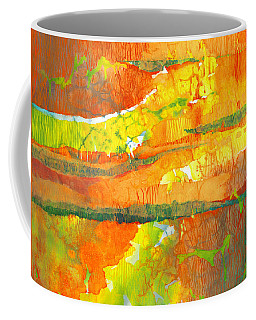 Strata Coffee Mug by Lynda Hoffman-Snodgrass