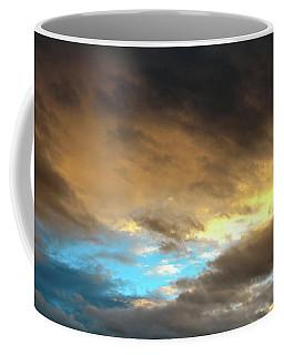 Stratus Clouds At Sunset Bring Serenity Coffee Mug