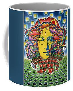 Strawberry Fields For Lennon Coffee Mug