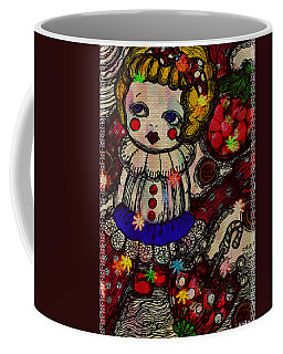 Strawberry Girl Coffee Mug by Akiko Okabe