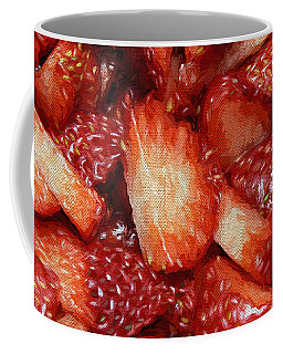 Strawberry Slices Coffee Mug by Andee Design