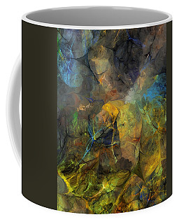 Stream Bed On A Sunny Day Coffee Mug