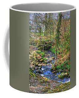 Coffee Mug featuring the photograph Stream In Wales by Doc Braham