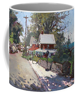 Street In Olcott Beach  Coffee Mug