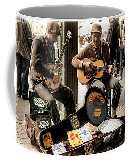 Street Music Coffee Mug