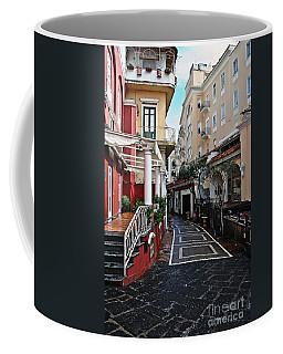 Street Of Capri Coffee Mug