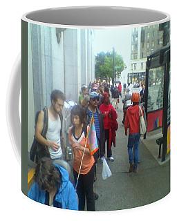 Street Scene Coffee Mug by David Trotter