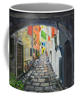 Street View 2 From Pula Coffee Mug