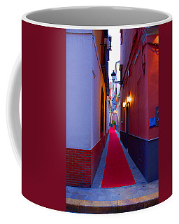 Streets Of Seville - Red Carpet  Coffee Mug