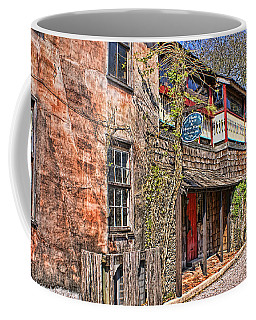 Coffee Mug featuring the photograph Streets Of St Augustine Florida by Olga Hamilton