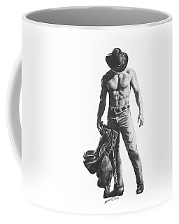 Strength Of A Cowboy Coffee Mug