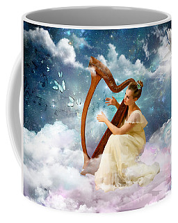 Strings Of My Heart Coffee Mug