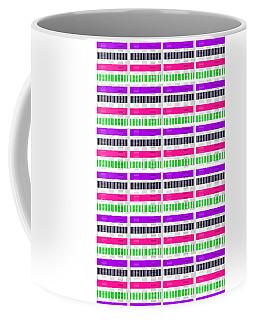 Stripe And Check Coffee Mug