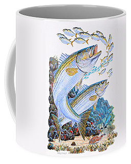 Striped Bass Rocks Coffee Mug