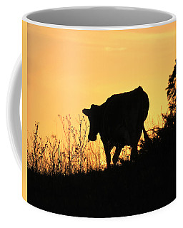 Coffee Mug featuring the photograph Strolling Into The Sunset by Penny Meyers