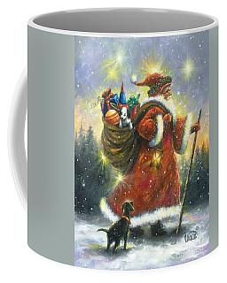 Strolling Santa II Coffee Mug