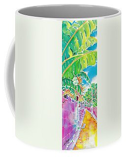 Strolling The Village Coffee Mug
