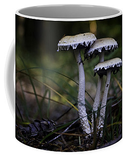Coffee Mug featuring the photograph Stropharia Ambigua by Betty Depee