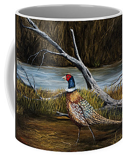 Strutting Pheasant Coffee Mug