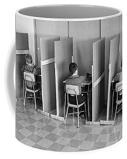Students In Cubicles Coffee Mug