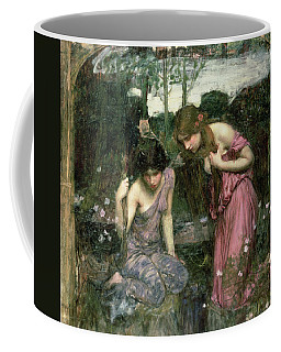Study For Nymphs Finding The Head Of Orpheus, C.1900 Oil On Canvas Coffee Mug