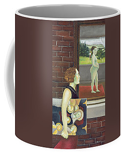 Study For The Songs Of Travel Number Nine I Have Trod The Upward And The Downward Slope Two Coffee Mug