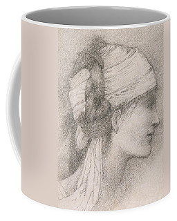 Study Of A Female Head To The Right Coffee Mug