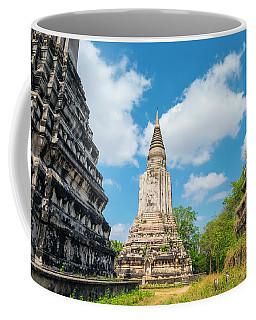 Stupas At Phnom Oudong, Kandal Coffee Mug