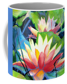 Styalized Lily Pads 3 Coffee Mug