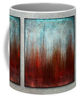 Stylized Beach Grasses Coffee Mug